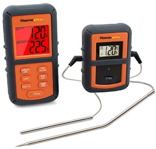 ThermoPro TP-08 Digital Wi-fi Remote Kitchen Meat Cooking Thermometer – Twin