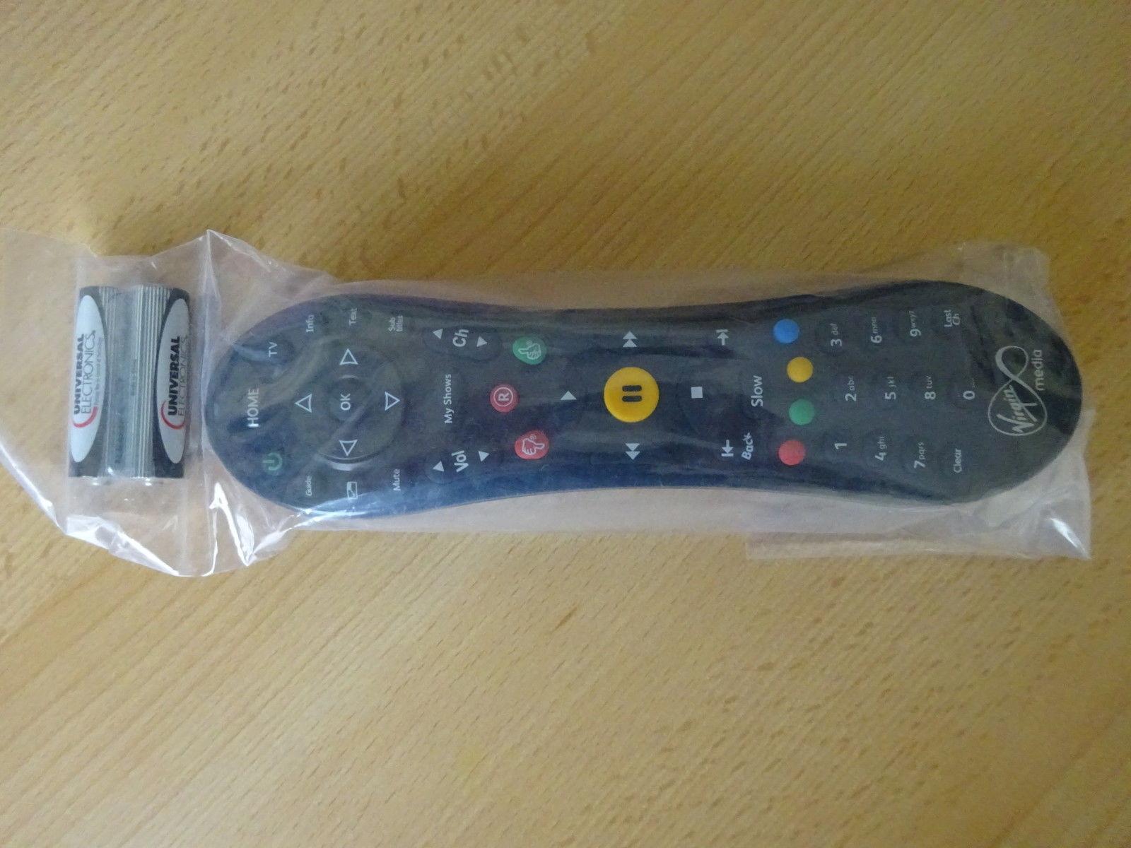 BRAND NEW Genuine Virgin Media TIVO Remote WITH FREE BATTERIES *1 year warranty