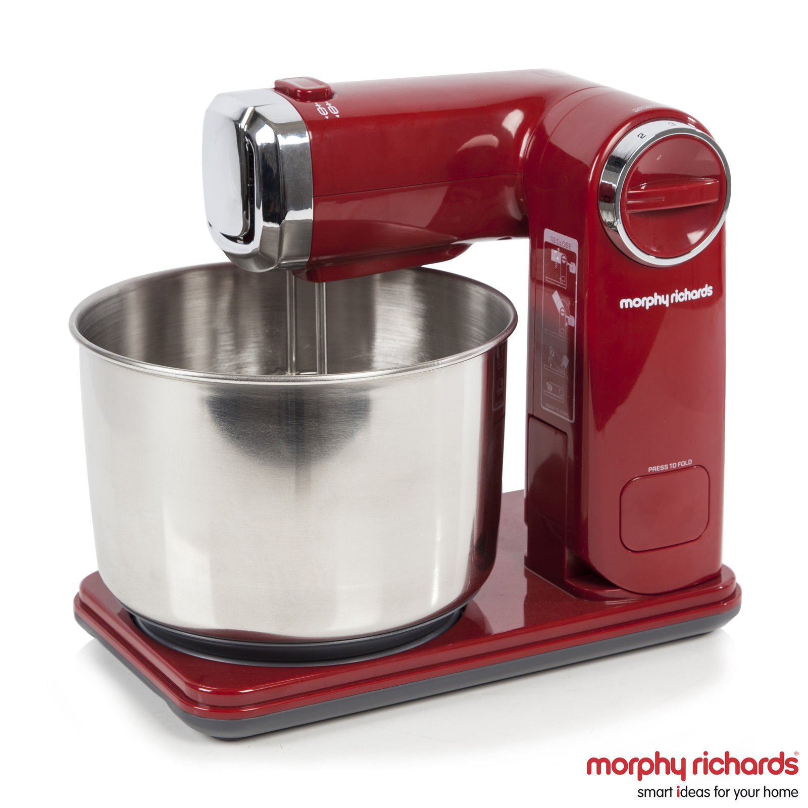 Morphy Richards 400404 Accents Folding Stand Mixer, 300 Watt – Purple – Model NEW