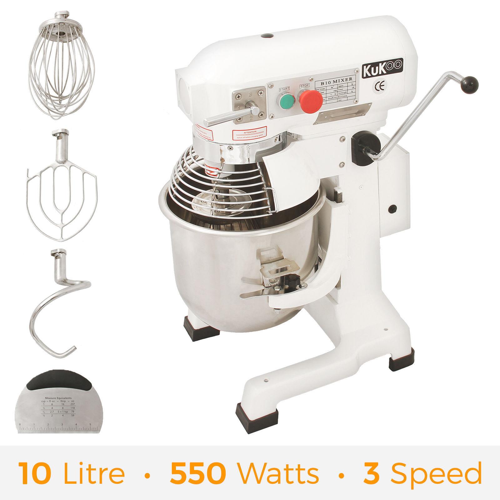 Business Meals Mixer 10l Stand Dough Planetary Mixer Cake