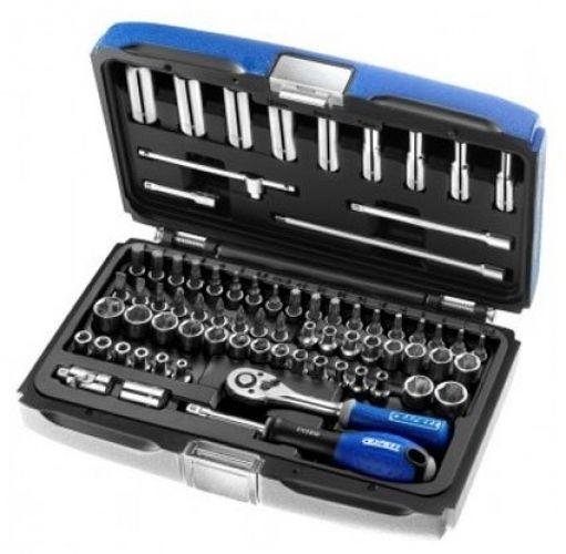 Britool E030707B 1/Four-inch Socket Drive Set (73 Items)