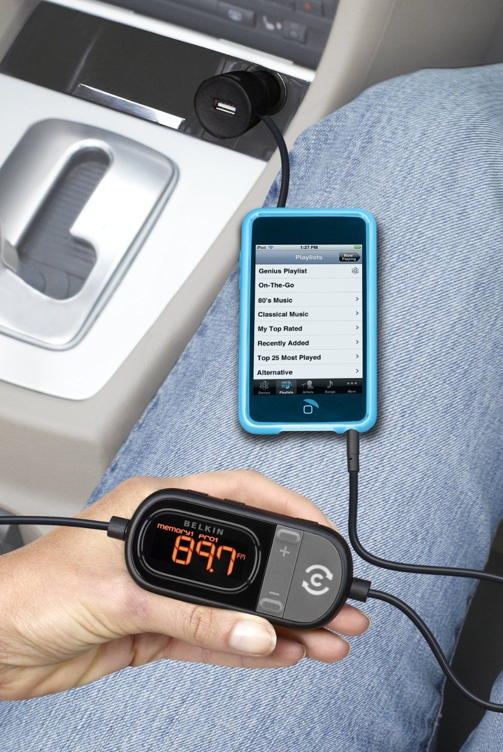belkin universal tunecast auto fm transmitter for iphone
