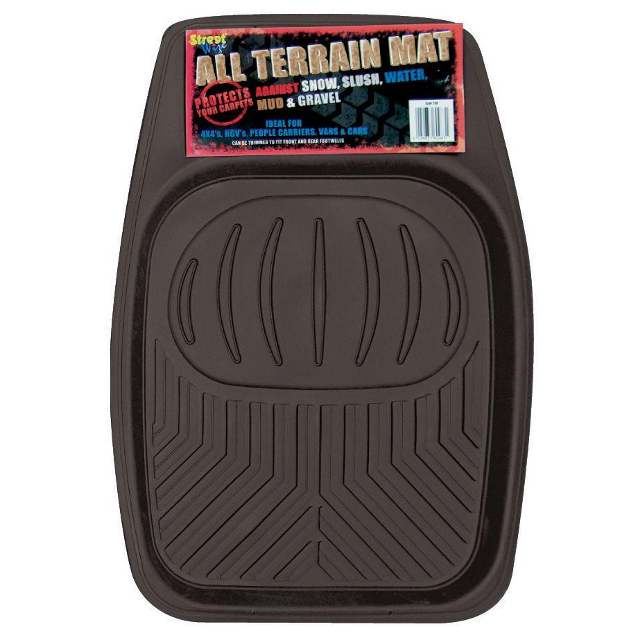 New Heavy Responsibility Automotive Van 4×4 Lorry Floor Tray Rubber Mat Black Single