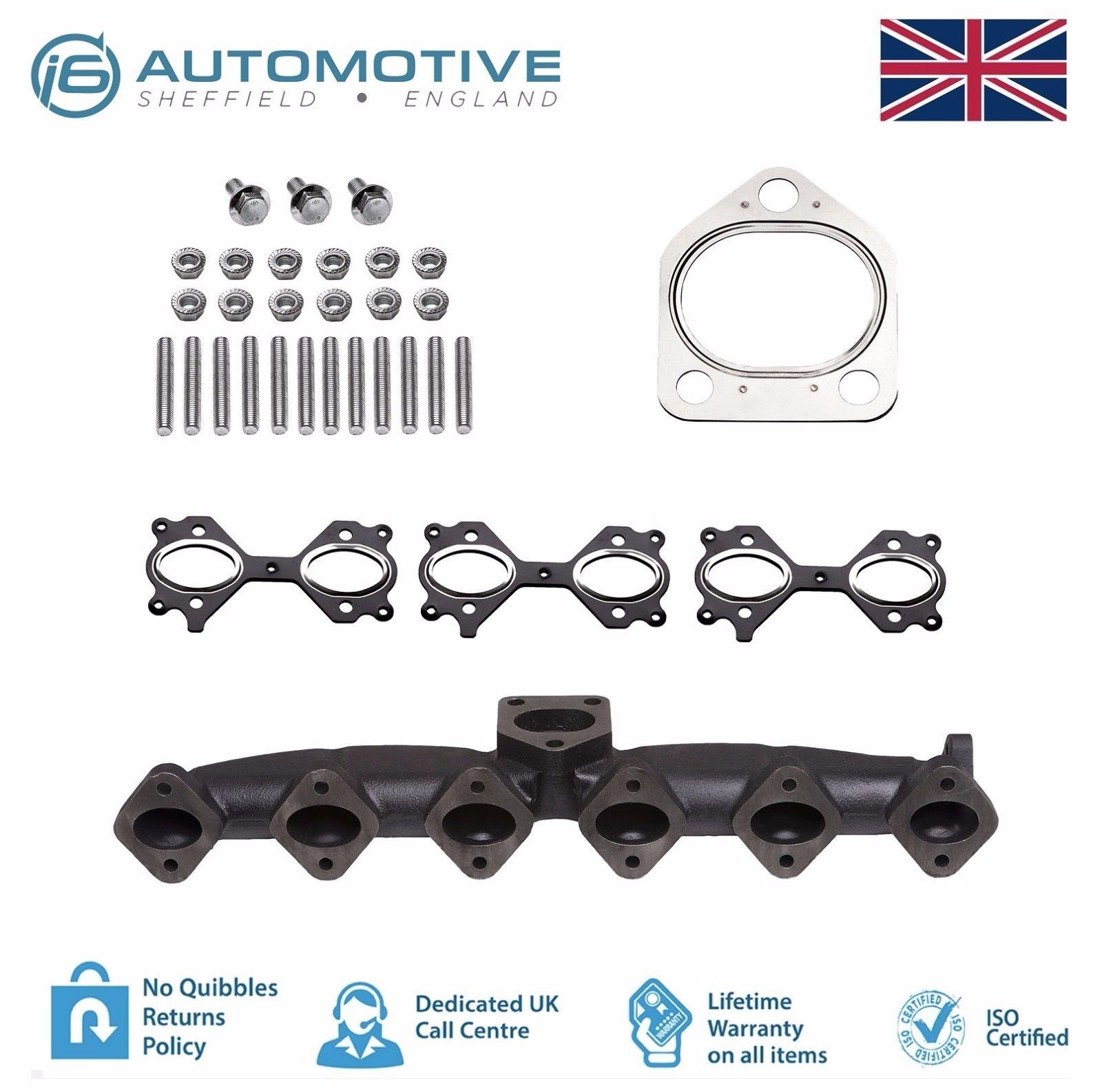 NEW BMW Exhaust Manifold Ductile Iron E60 E61 E65 X5 2.5d 325d 330d 525d 530d