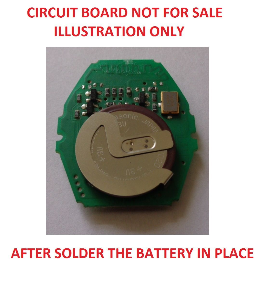 Rechargeable Battery Bmw Three 5 Series E46 E39 Vl Remote Key Panasonic Japan