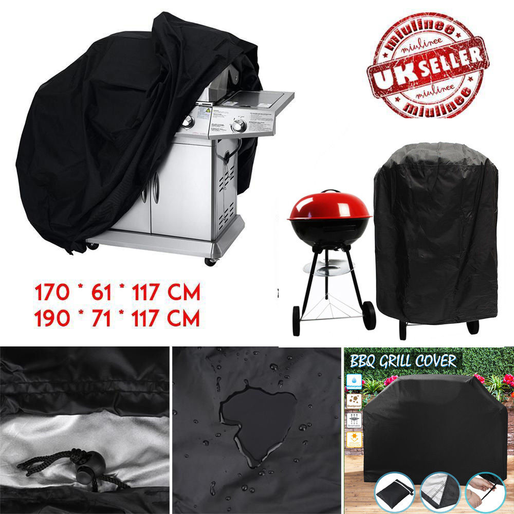 Heavy Obligation BBQ Grill Barbecue Cowl Garden Patio Protector Outside Waterproof