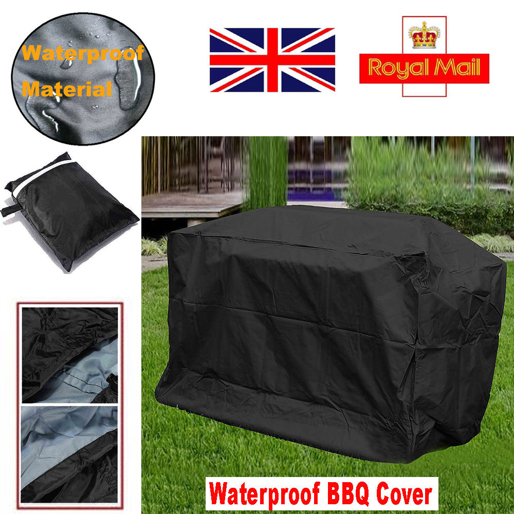 Giant Heavy Obligation BBQ Cowl Rain Waterproof Garden Patio Grill Barbecue Protector