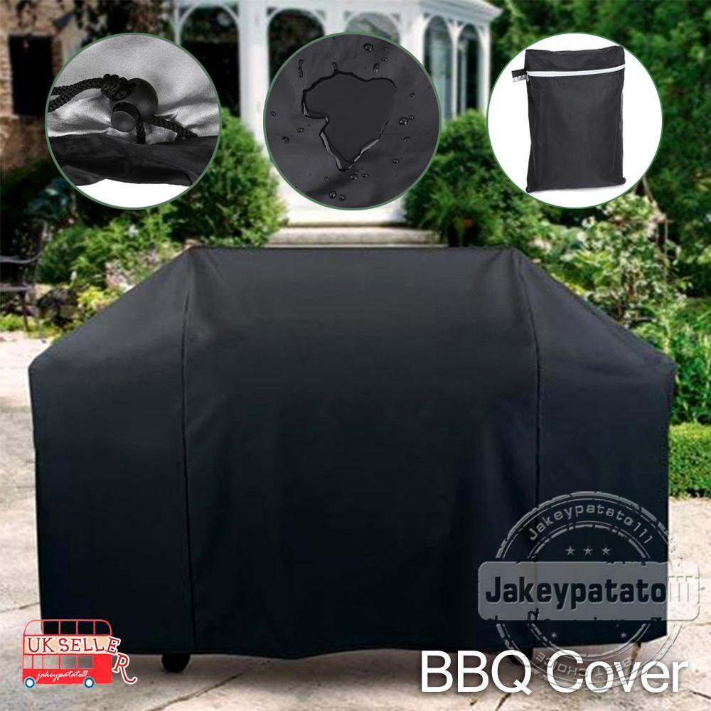 145cm BBQ Cowl Out of doors Waterproof Barbecue Covers Garden Patio Grill Protector
