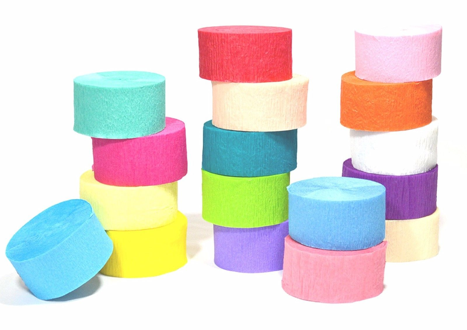 81ft Crepe Paper Streamer Roll Marriage ceremony Birthday Celebration Provides Decorations