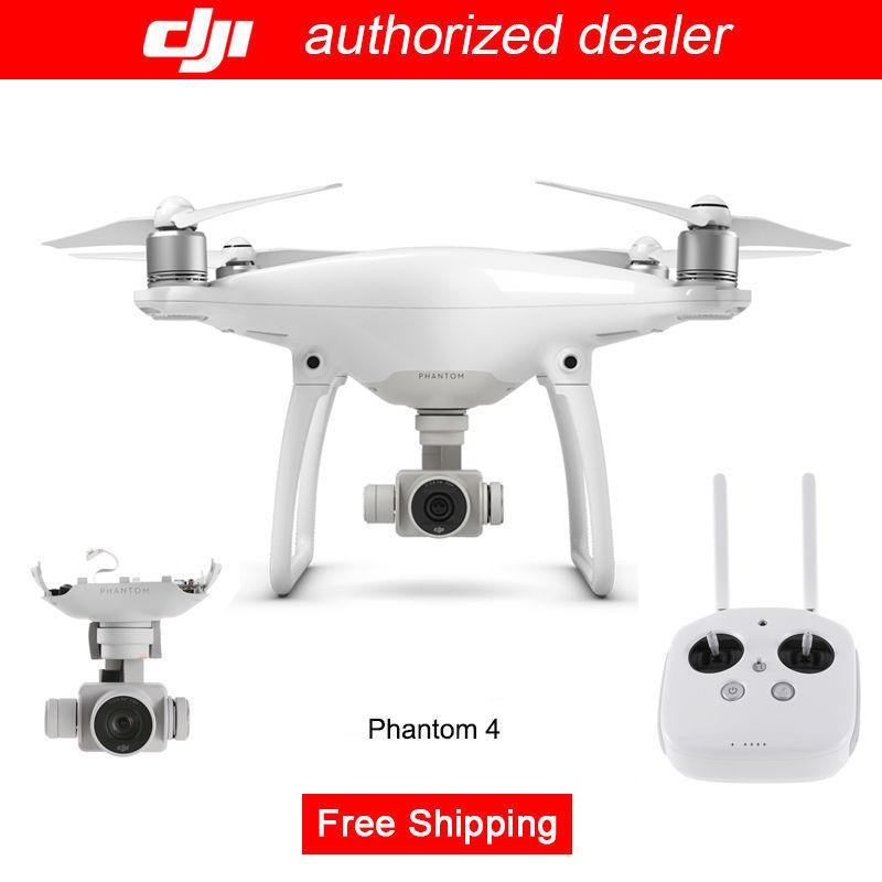 Real DJI Phantom four RC 4K Digicam Drone with ActiveTrack + Aerial Images