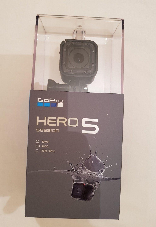 GoPro Hero5 Session 10MP 4K 30fps UltraHD, Wi-Fi, Bluetooth Water resistant Digitised digicam