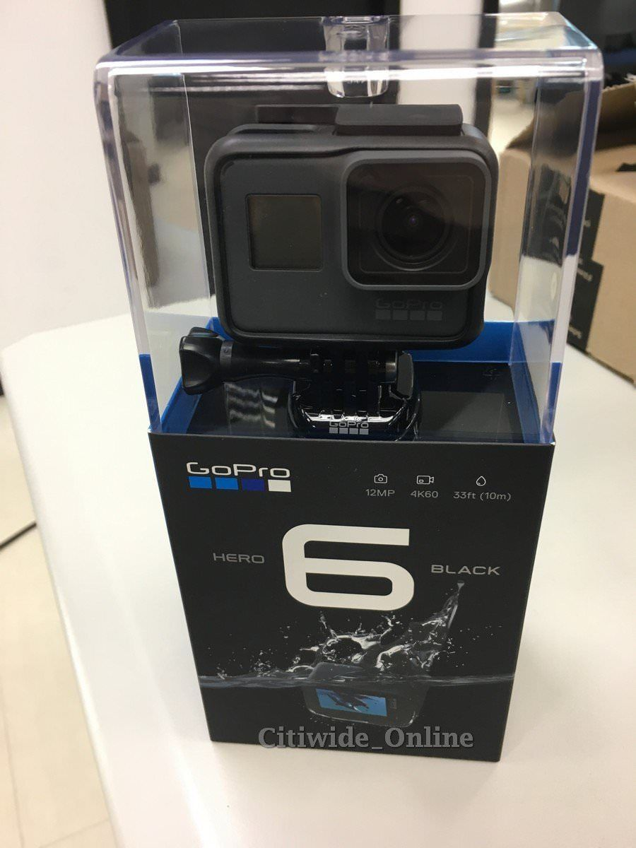 GoPro HERO 6 Black Video Log Conduct Electrical digicam HD 4K