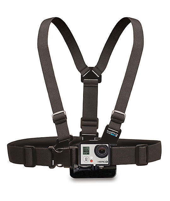 GoPro Chesty Strap Mount Harness Digicam M-XXL HERO5 Hero4 Real Distinctive