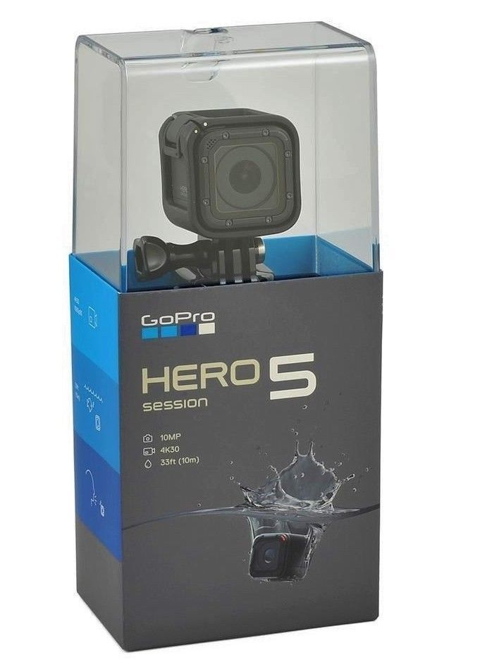 GoPro HERO5 Session 4K Conduct Digicam 17 MODEL BRAND NEW IN BOX
