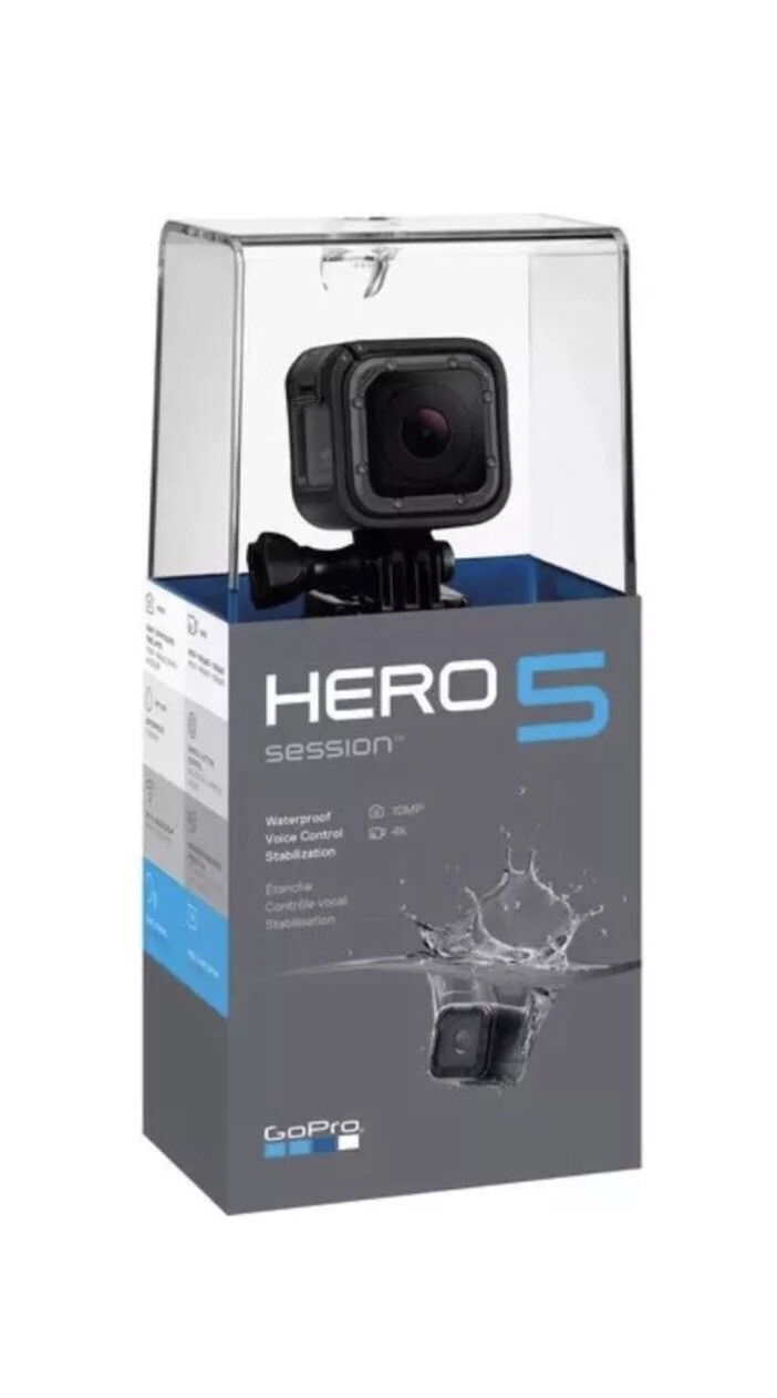 GoPro HERO5 Session 4K Exercise Digicam Black With Free 32gb Samsung Micro SD