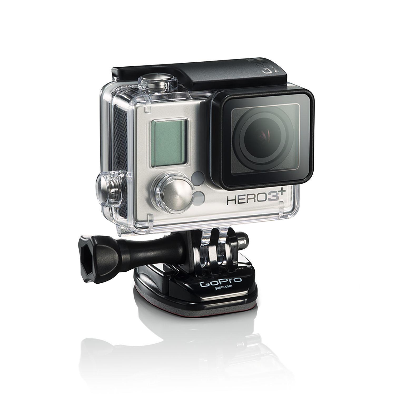 GoPro HERO three+ Silver Model Movement Electrical digicam Digital camera – Licensed Refurbished