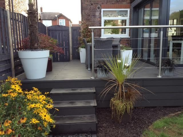 Composite Decking Clarity Charcoal 32 Square Metre Pack (incl. fixings)