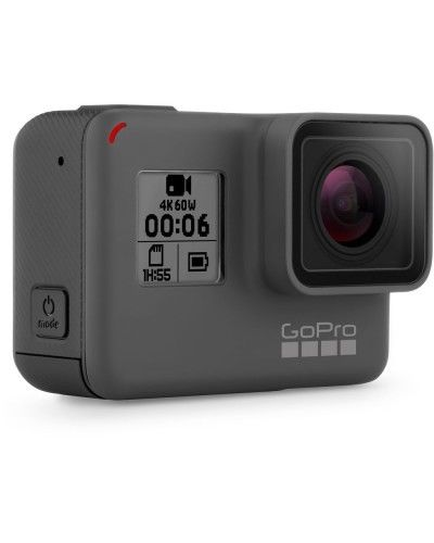 GoPro HERO six Movement 4K Very HD Rugged Water resistant Digicam Sprint Cam – Black