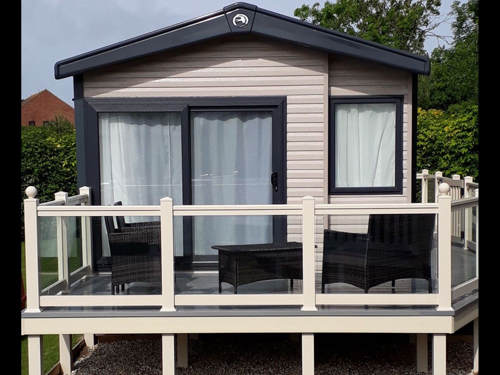 three Mattress room Platinum 17 Caravan For Hire At Haven Weymouth Bay