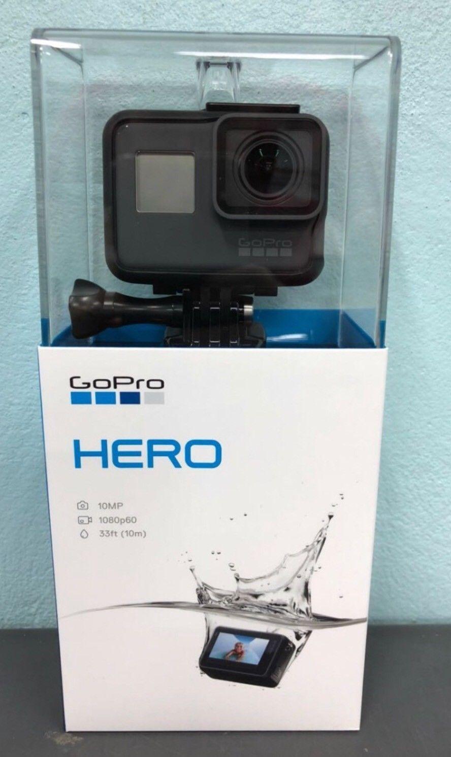 GoPro Hero 18 1080P 60 HD Digicam 10MP CHDHB-501-RW