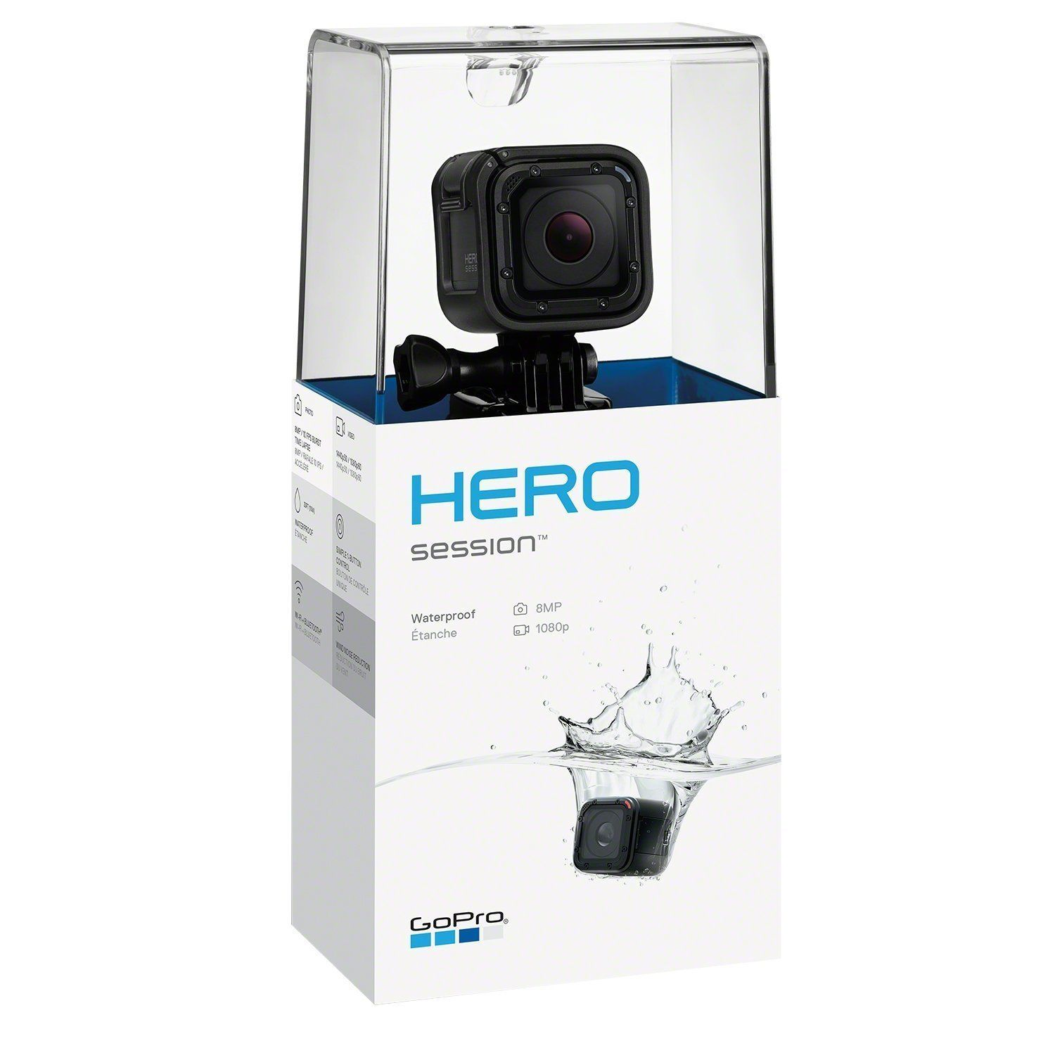 GoPro HERO Session Exercise Digicam Digicam HD 1080p – Licensed by no means used