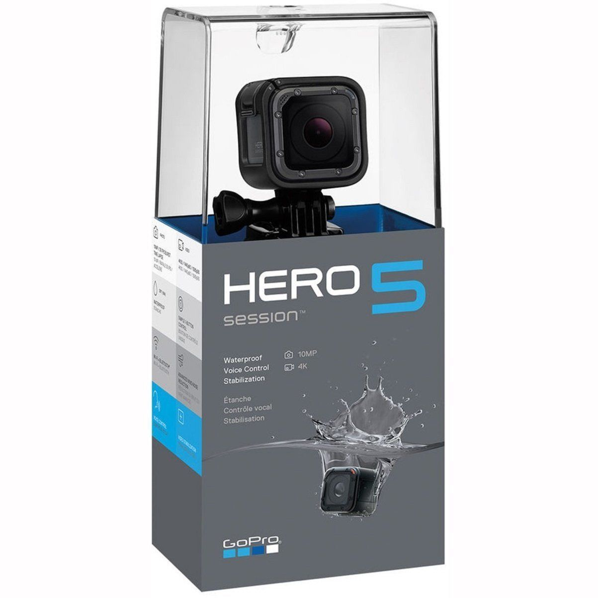 GoPro Hero5 Session Model 4K Extraordinarily HD Exercise Cam – Wi-Fi Water-proof Digicam NEW