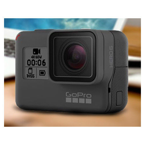 GoPro Hero 6 Black 4K Extraordinarily HD Electronic digicam Stock in EU BNIB