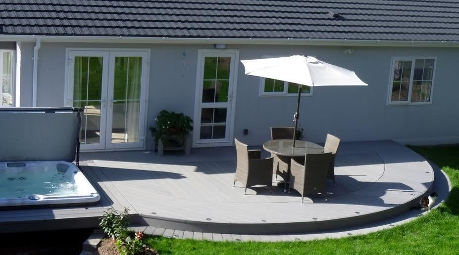 Composite Decking Clarity Graphite 50 Square Metre Pack (incl. fixings)
