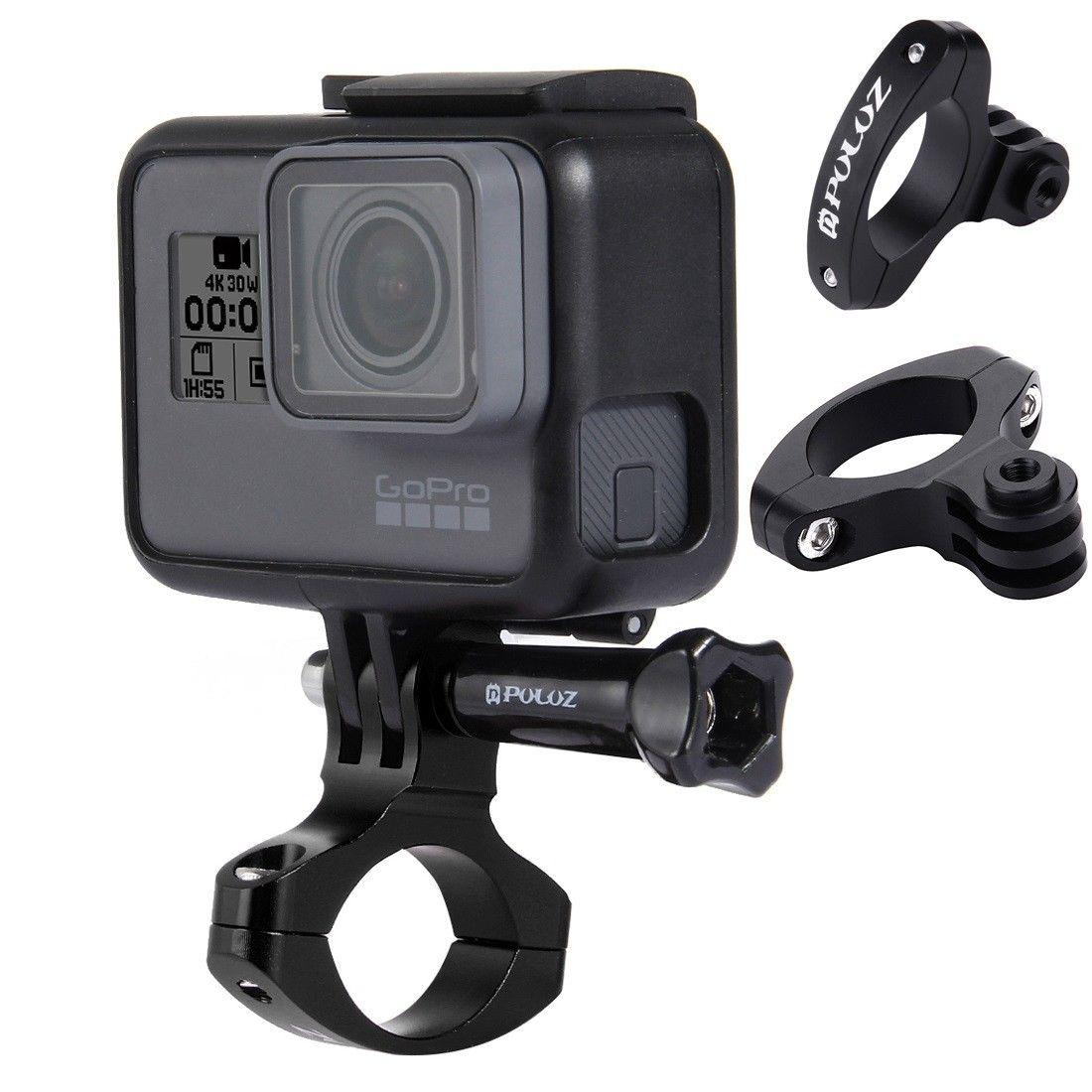 Bike Bicycle Handlebar Mount Clamp for GoPro HERO 6 5/4/three/2/1 Cameras 31.8mm