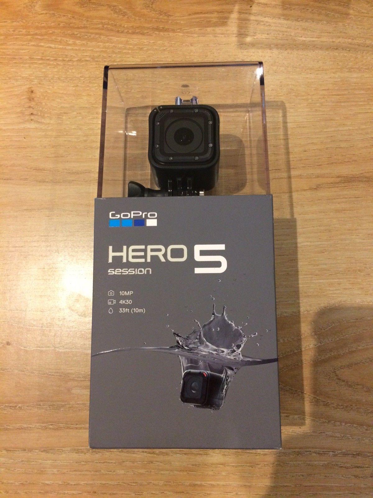 GoPro HERO5 Session Digitised digital camera Black – Pristine and Sealed – 4K Video – Water-proof