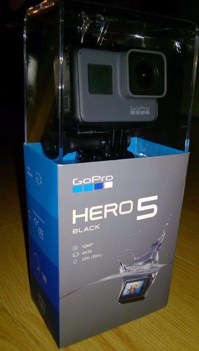 GoPro HERO5 Black Version 4K HD Water resistant Videocamera Behavior Digicam **Mint**