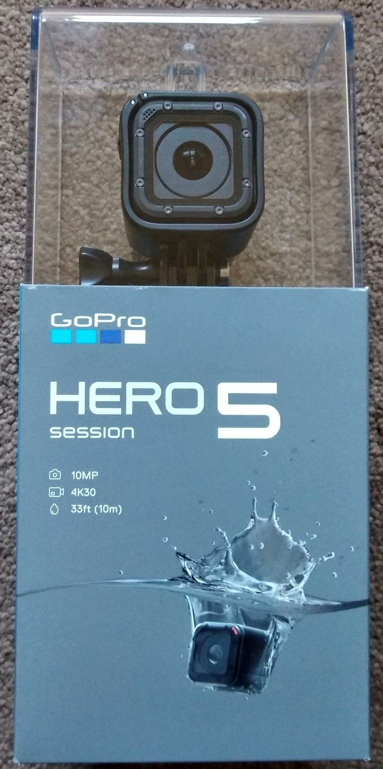 GoPro Hero five Session 4k Hd camera 10MP Digicam Sealed Discipline