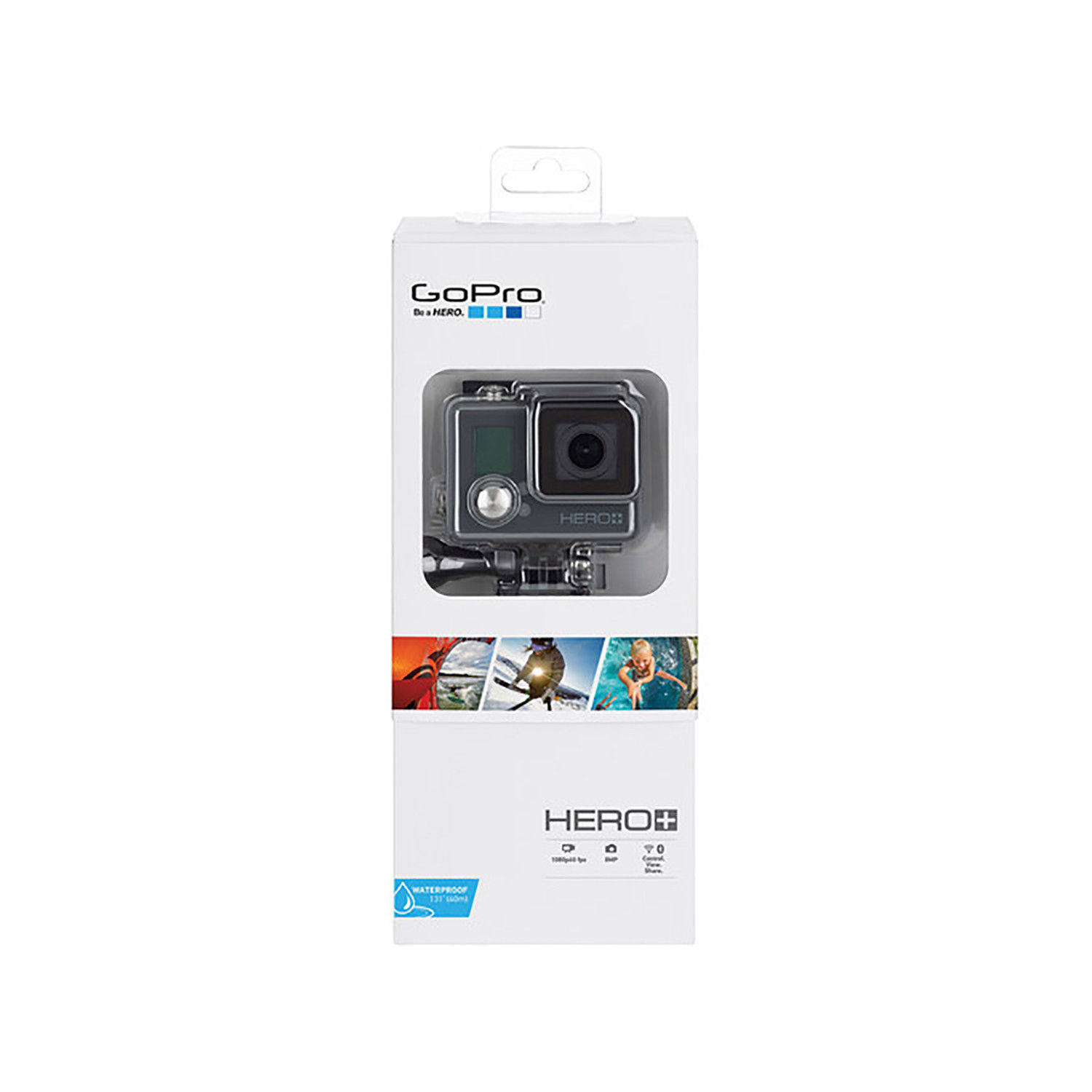 GoPro HERO+ 8MP Full HD Habits Digicam – Black