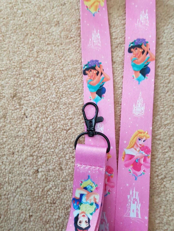 Walt Walt Disney princess lanyards