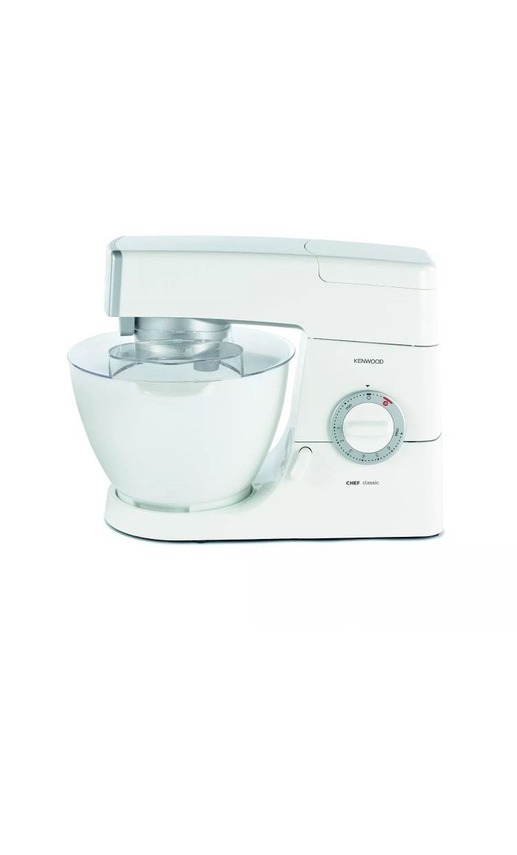 Kenwood KM330 800W four.6L Chef Traditional Kitchen Machine Stand Mixer in White New