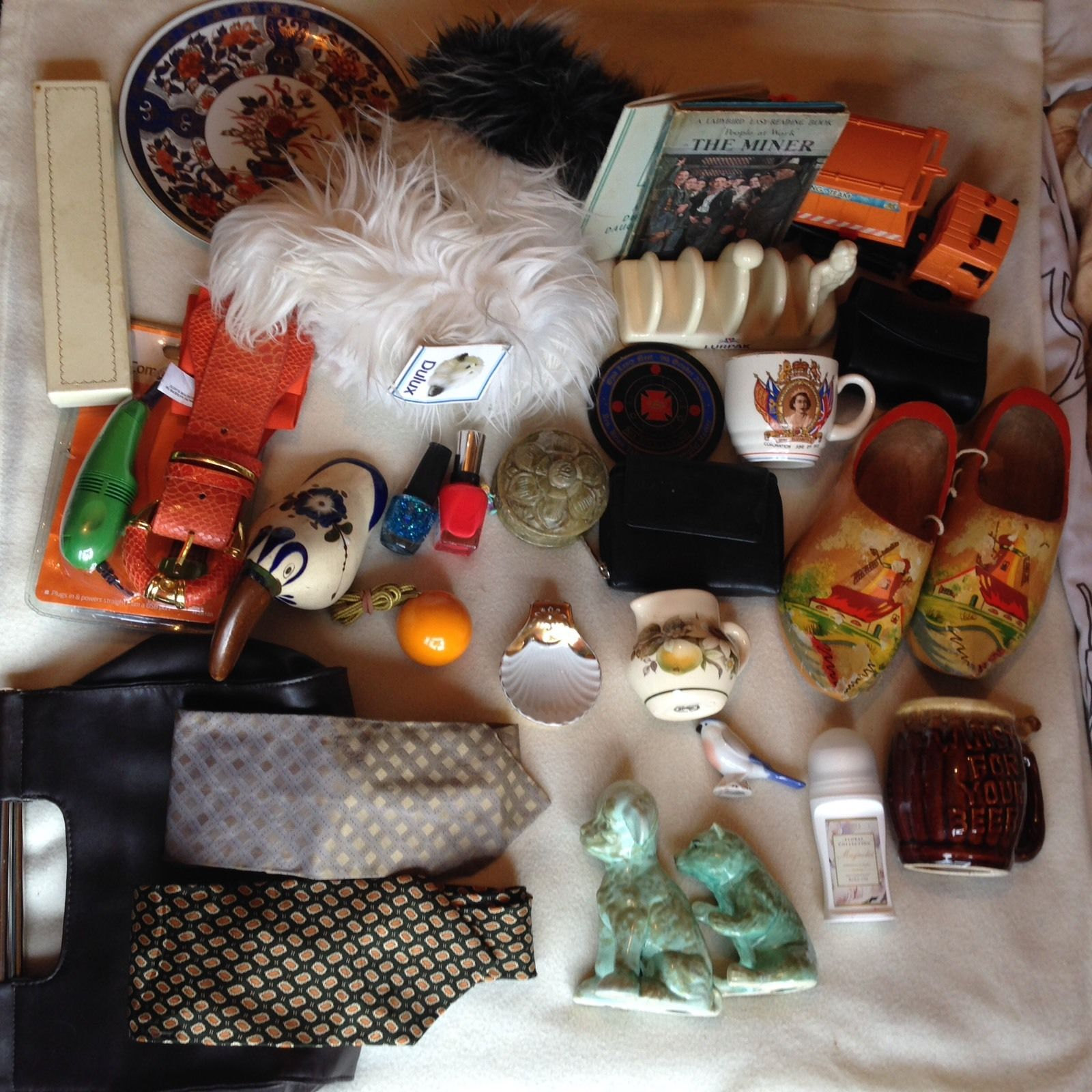 Collectables job lot. Combined Contents, Classic To New. Superb For Automobile Boot.(2)