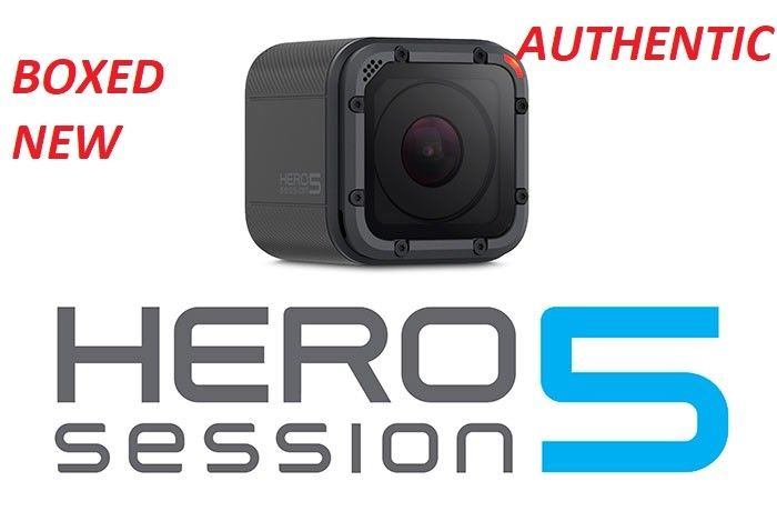 Boxed Brand-new GoPro Hero5 Session Version 4K Very HD, Wi-Fi Water-proof Digital camera