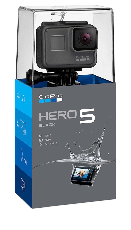 GoPro HERO5 Black Model 4K HD Water-proof Videocamera Exercise Computerised digicam