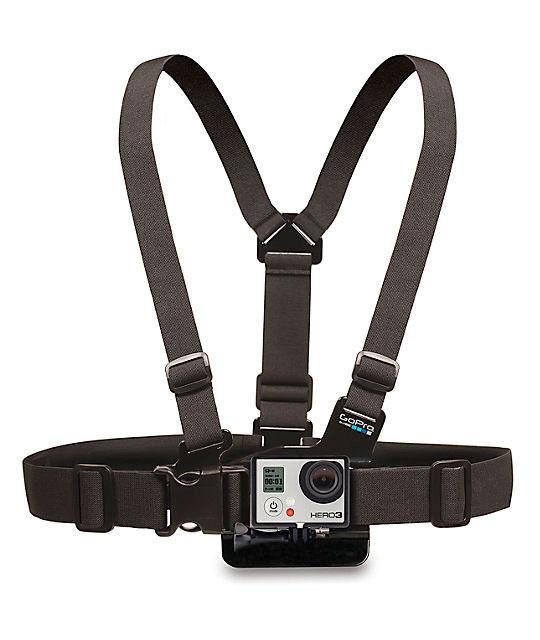 GoPro Chesty Strap Mount Harness Digicam M-XXL HERO5 Hero4 Real Distinctive