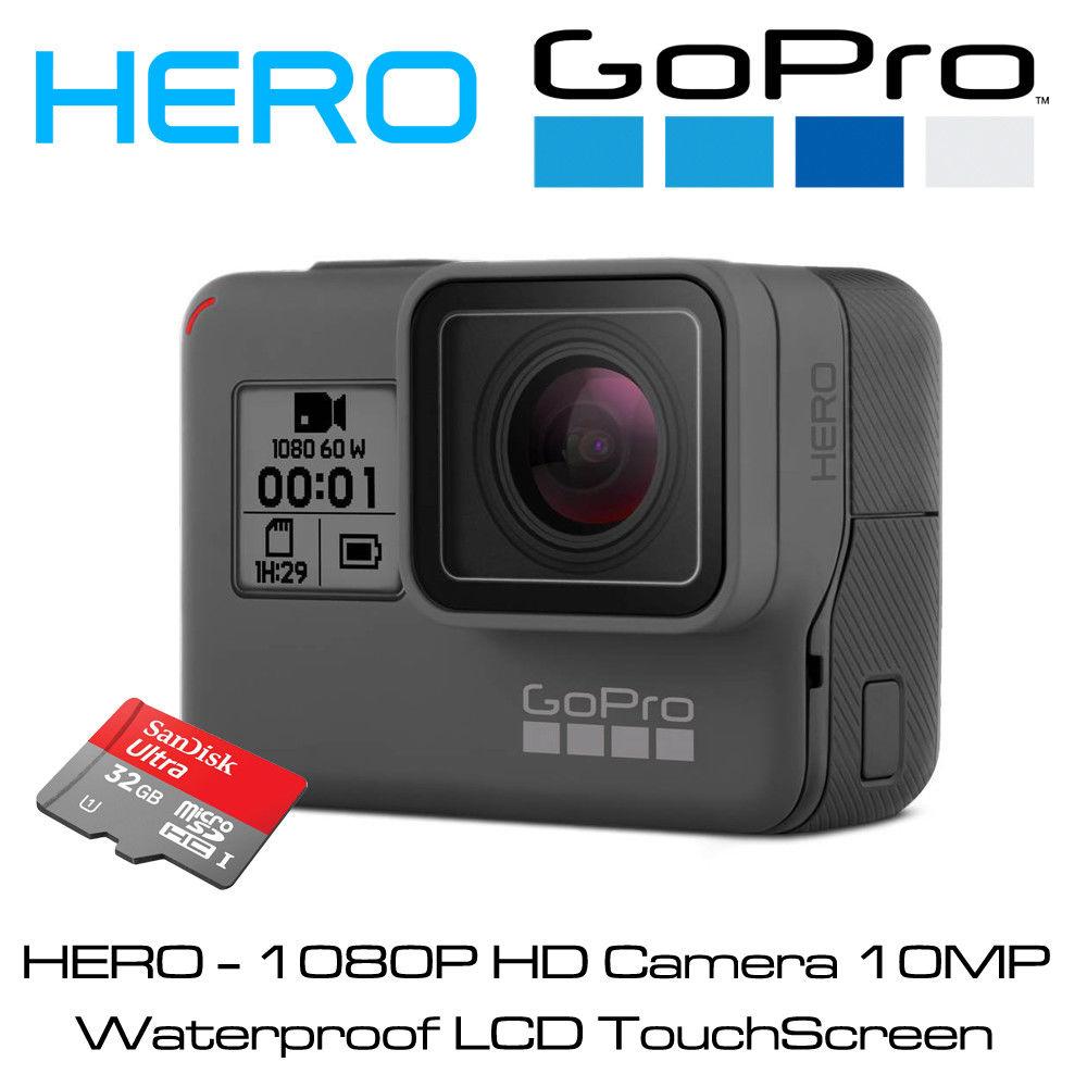 GoPro HERO – 1080P 60 HD Computerised digital camera 10MP Water-proof LCD TouchScreen Model-new 18 Model