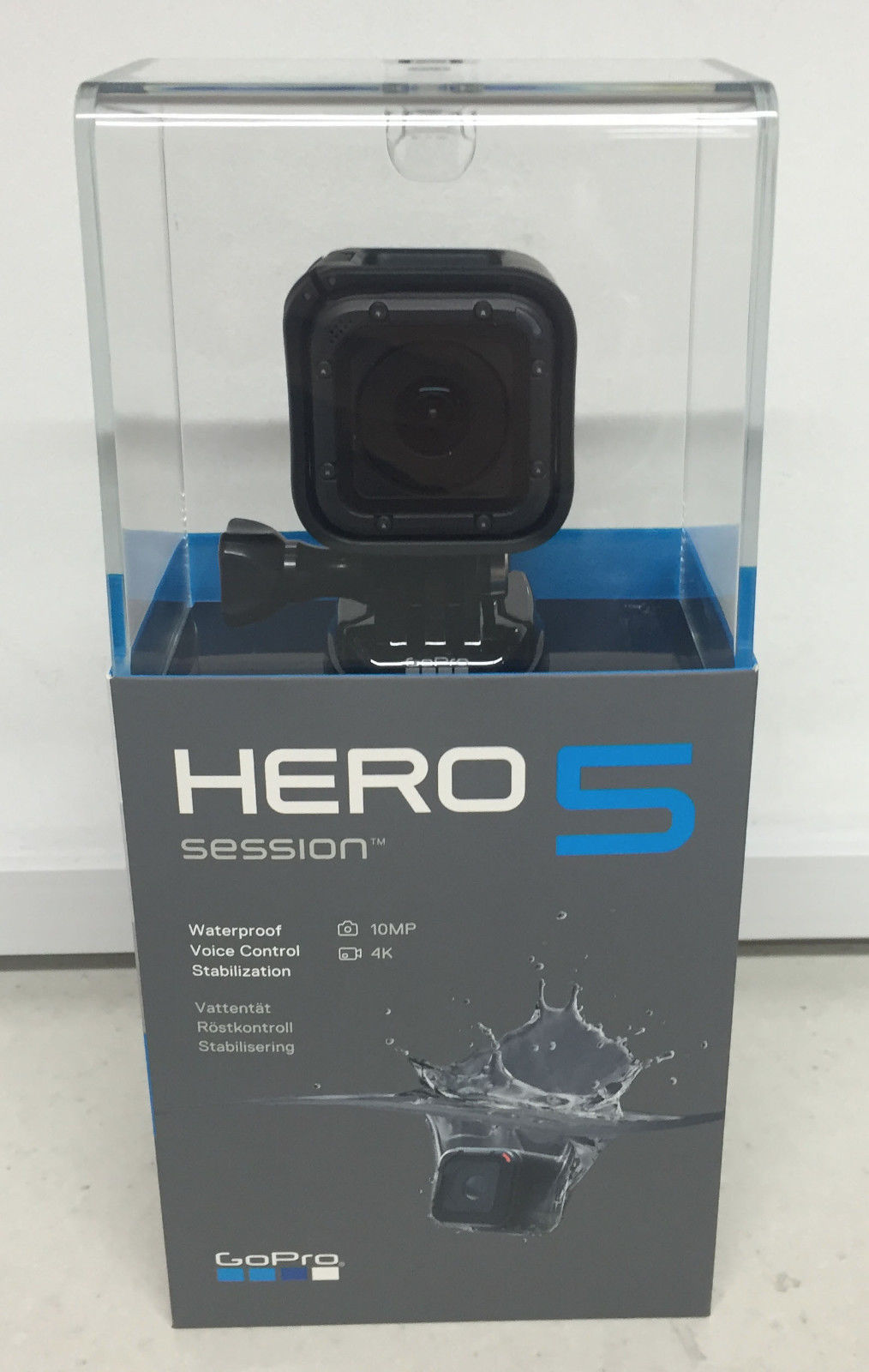 GoPro Hero5 Session Model 4K Extraordinarily HD, Wi-Fi Water-proof High-def digicam + 32GB SD Card