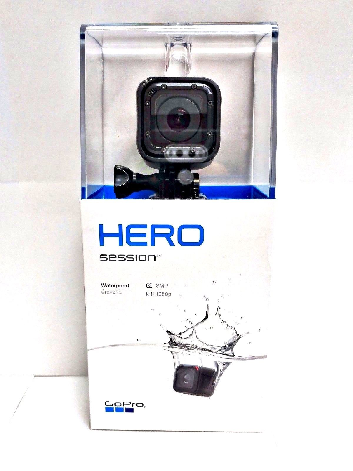 GOPRO HERO Session HD Movement Digicam WiFi Video 1080p Digital camera NEW + WARRANTY