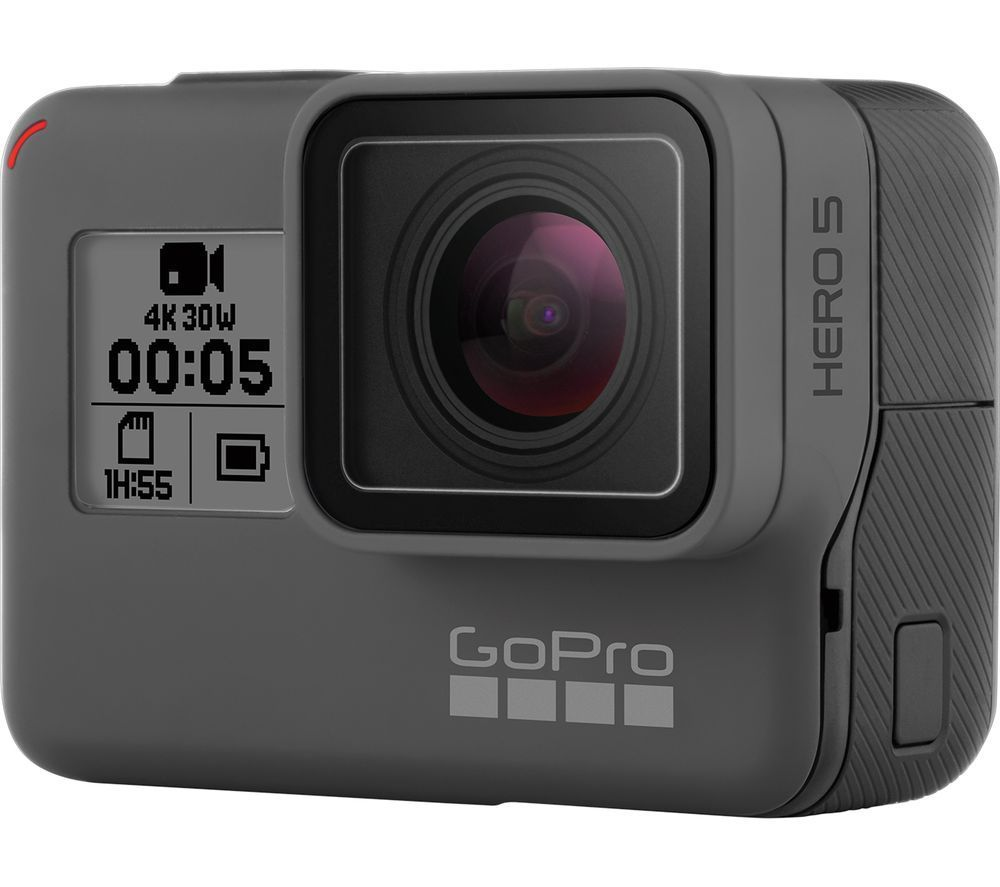 GoPro HERO5 Black Model 4K HD Watertight High-def digicam Movement High-def digicam