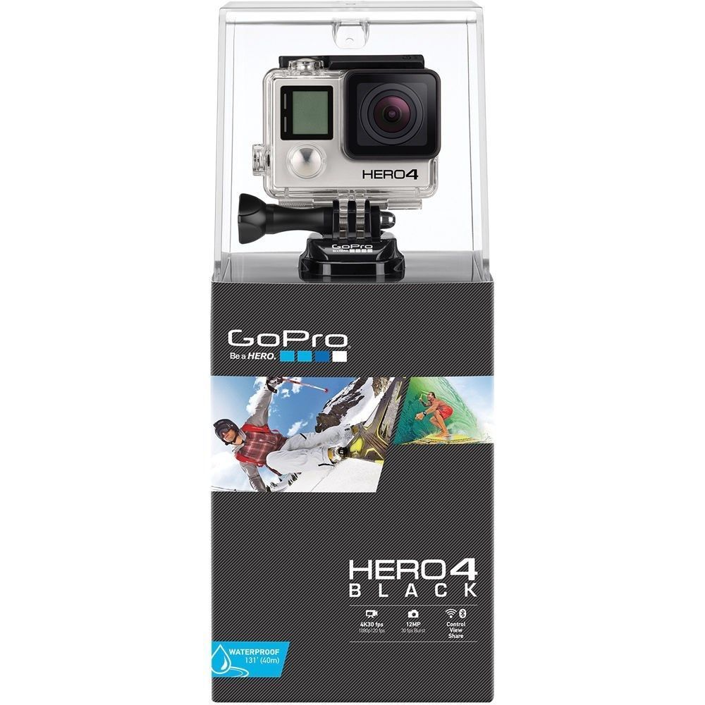 GoPro HERO 4 Habits Digicam Black Model