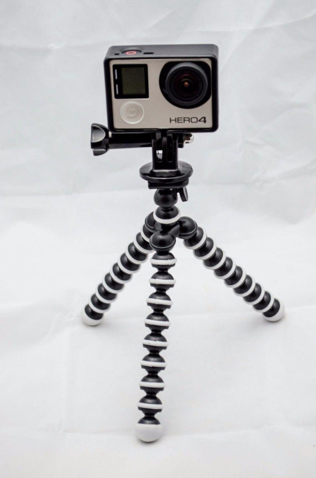 Tripod Set for GoPro Hero 4 (Mini Tripod, Mount, Housing & Screw) + FREE Nice britain POST