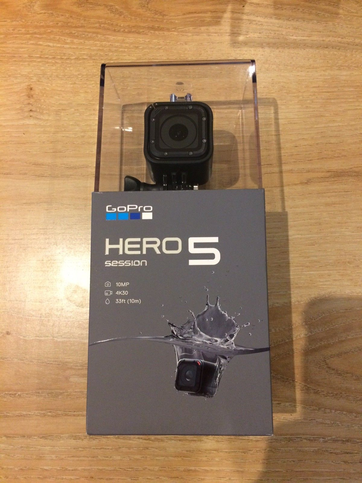 GoPro HERO5 Session Digitised digital camera Black – Pristine and Sealed – 4K Video – Water-proof