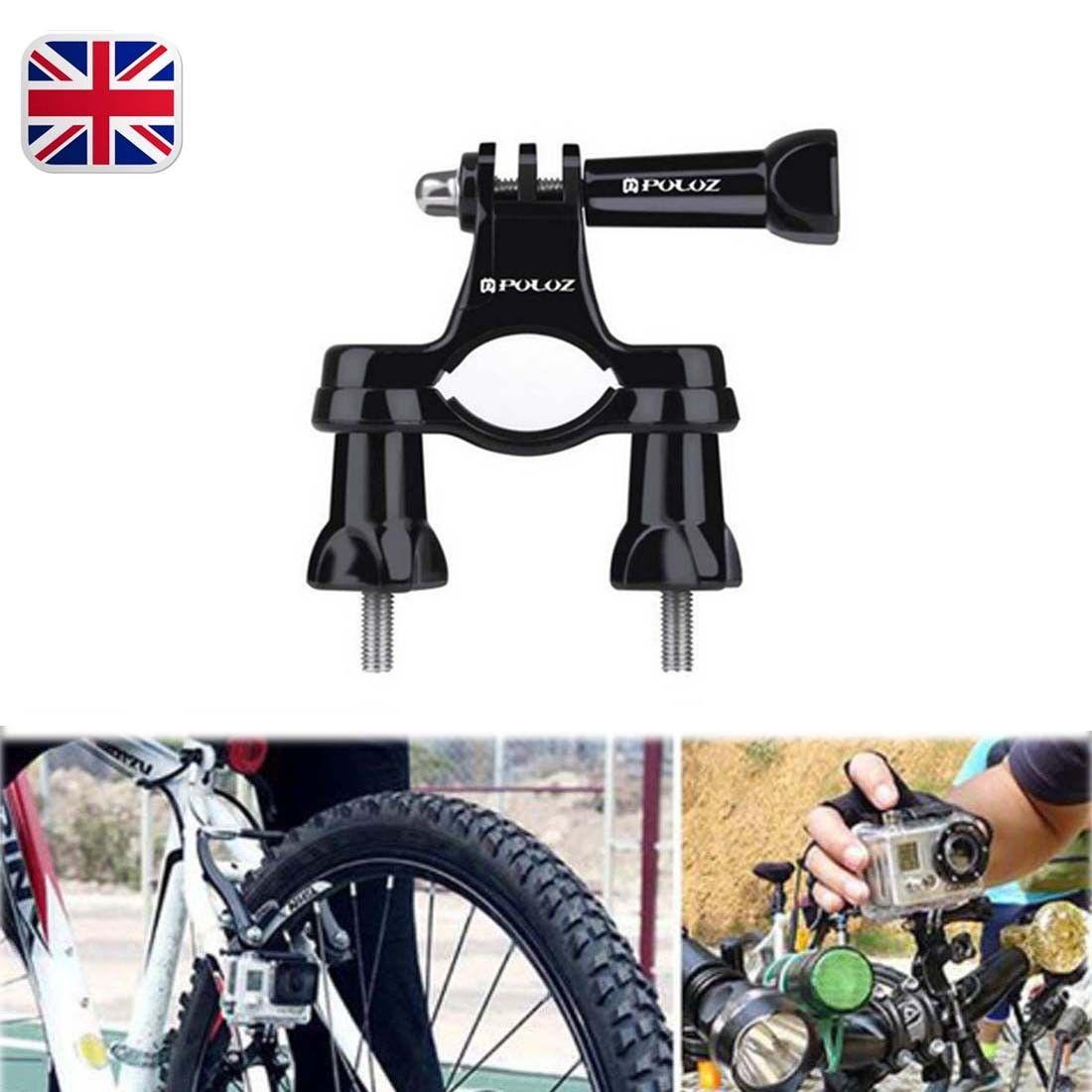 For GoPro Hero Exercise Cameras Handlebar Seatpost Pole Mount Bicycle Bike Holder