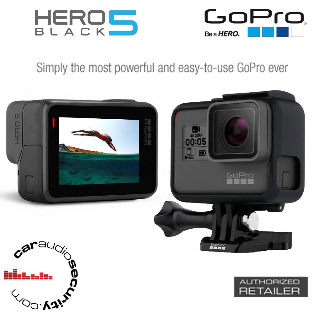 GoPro HERO5 Black – 4K Extraordinarily HD Water-proof LCD TouchScreen App Control Digicam