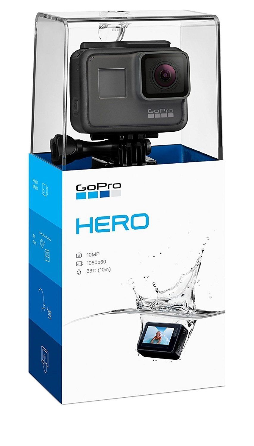 depart Skilled Hero (18) Movement Electronic digital camera Black